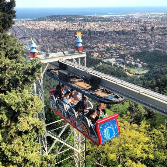 Tibidabo, Barcelona's Heaven on a Hill