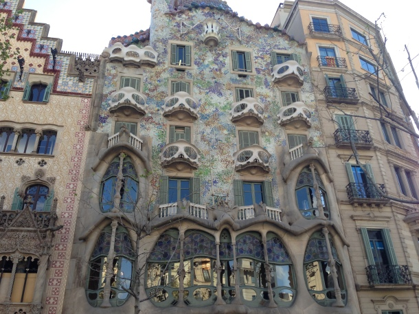 Travel to Barcelona is recommended first if you're going to Spain.